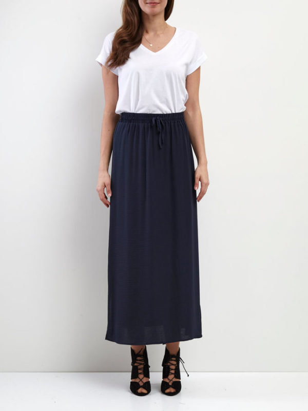 Vimelli Maxi Skirt Total Eclipse - Vila