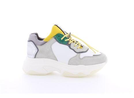 66167-A BX1525 White Yellow Silver - Bronx
