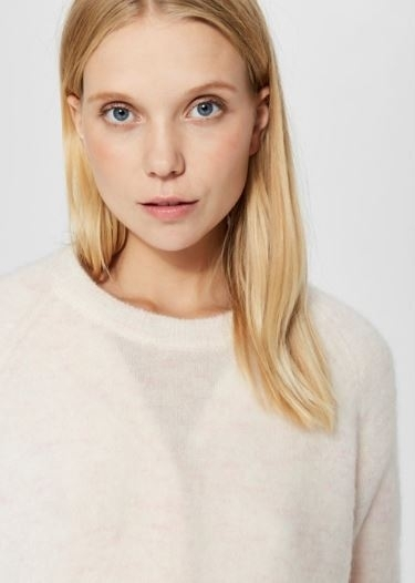 Selected Femme - Gold Livana LS Knit O-Neck