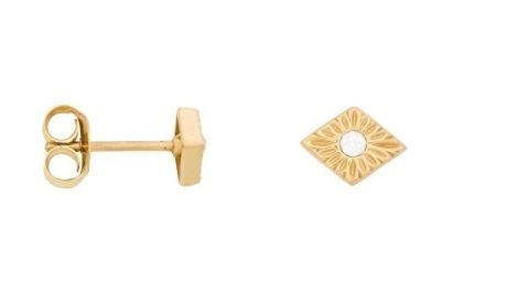 Eline Rosina - Detailed Zirconia Earrings
