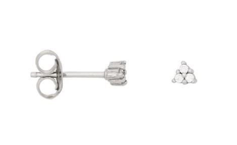 Eline Rosina - Triangle Zirconia Earrings