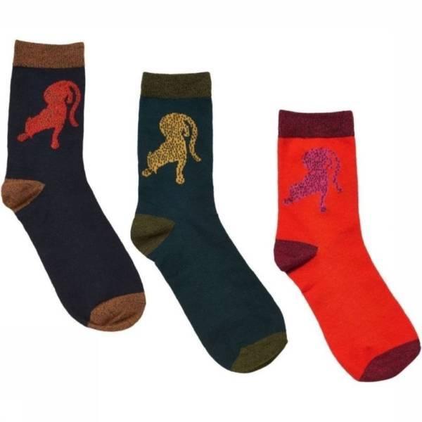 Nümph - Flavie 3-Pack Glitter Socks