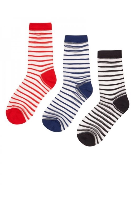 Nümph - Bryn 3-pack Glitter Socks