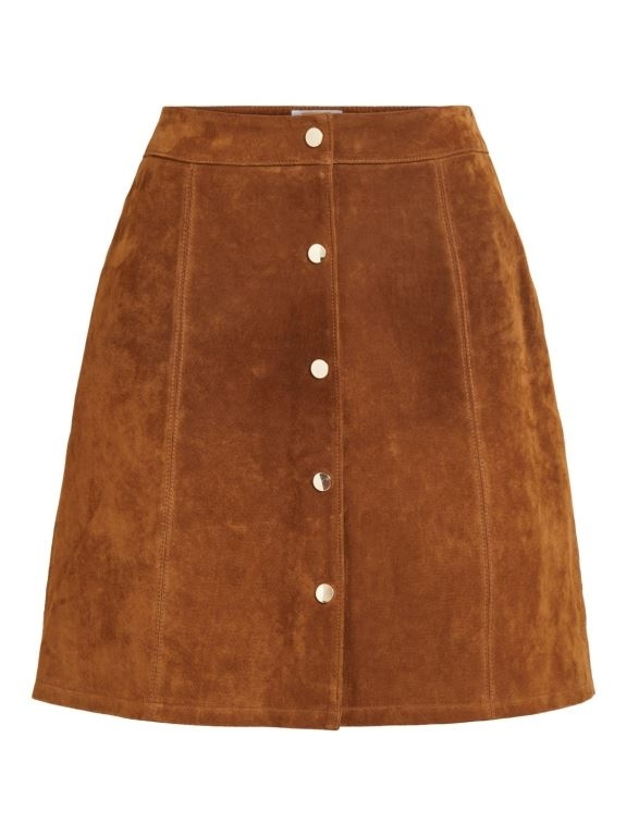 Vila - Vibotini HW Suede Skirt