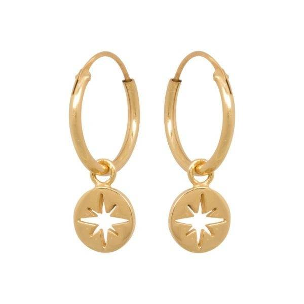 Eline Rosina - North Star Coin Hoops