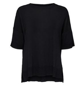 Selected Femme - Wille SS Knit O-Neck NOOS