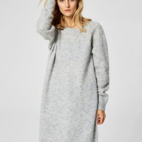 Selected Femme - Livana Agna LS Knit Dress