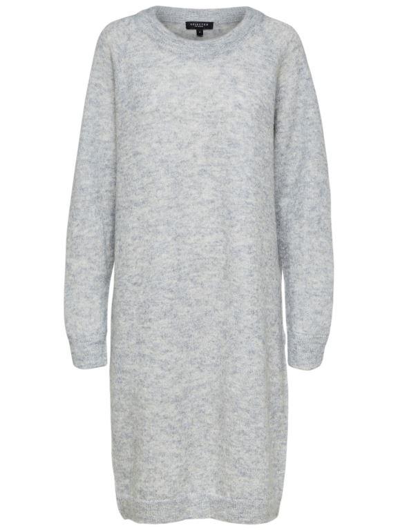 Selected Femme - Livana Agna LS Knit Dress