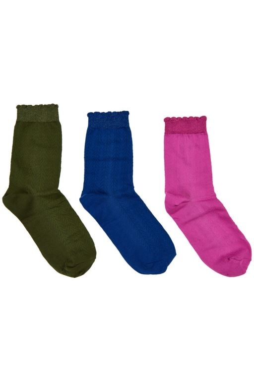 Nümph - Jacquetta 3-pack Socks