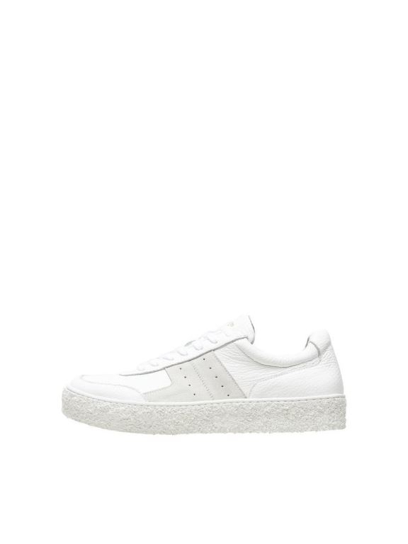 Selected Femme - Dina Leather Trainer