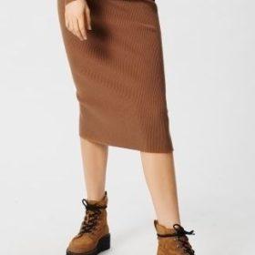Moss Copenhagen - Like HW Calf Skirt
