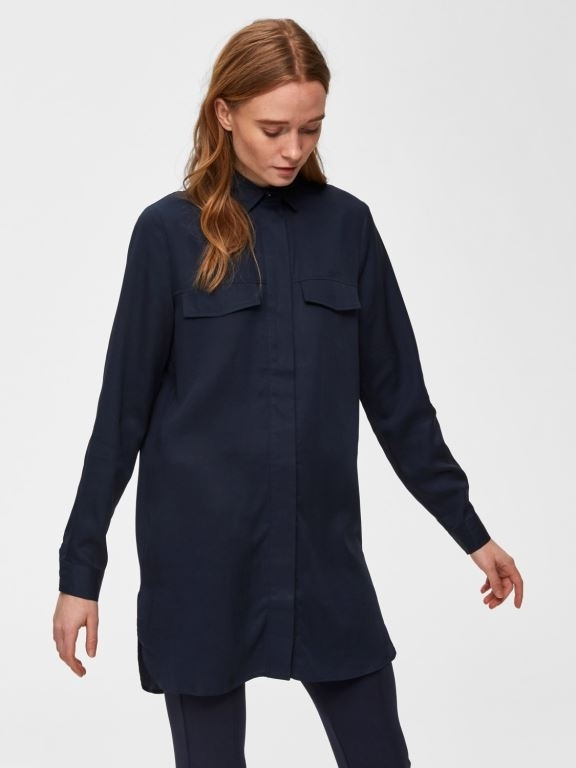 Selected Femme - Frita Long Shirt