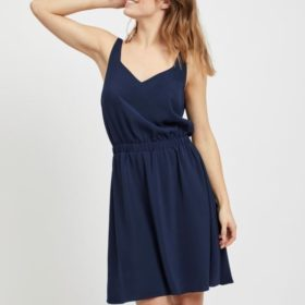 Vila - Vilaia S/L V-Neck Dress NOOS