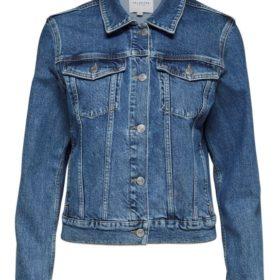 Freja Hayes Blue Denim Jacket