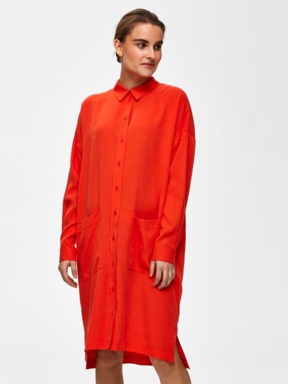 Tonia LS Shirt Dress