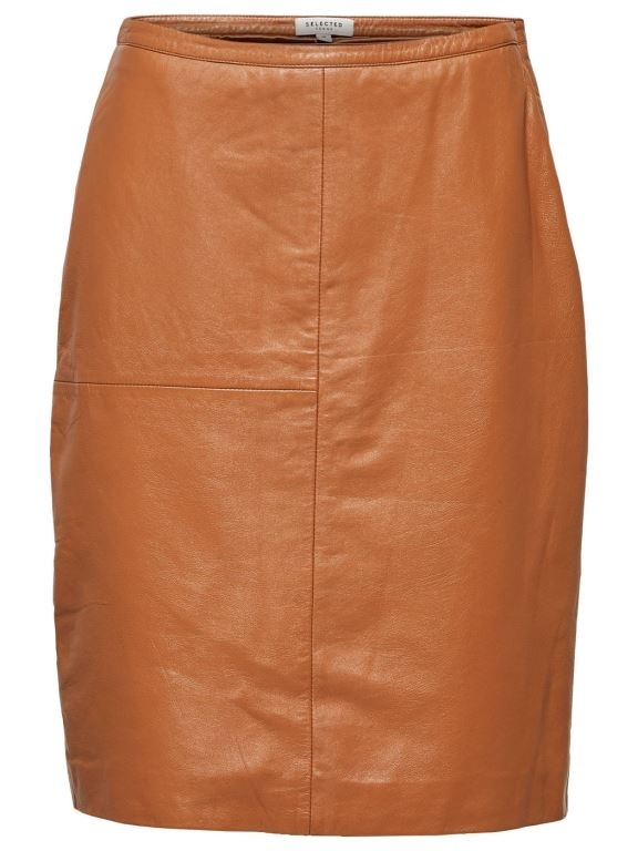 Fally Leather Skirt