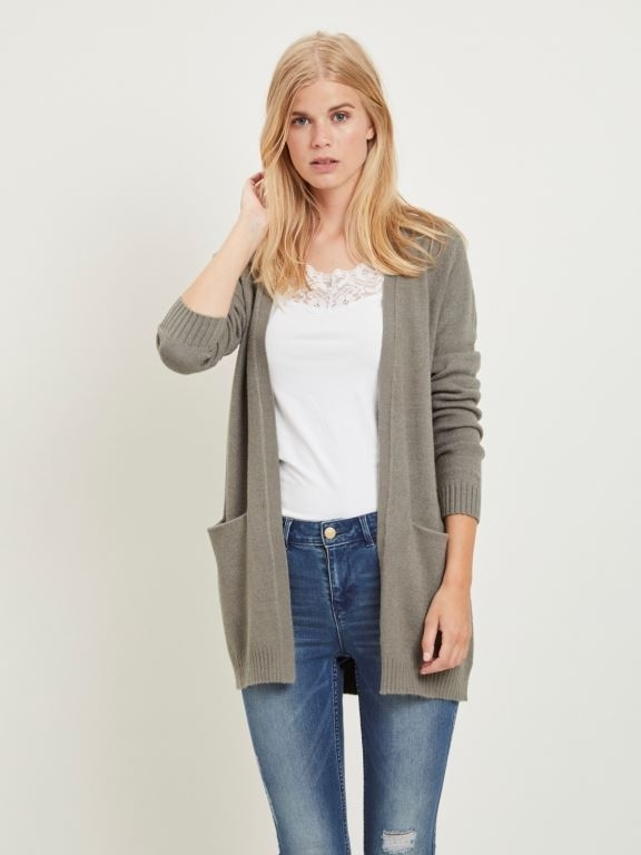Viril Open Knit Cardigan