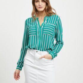Vila - Vilinetta Stripie L/S Shirt