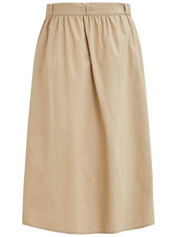 Vila - Vinyala HW Midi Skirt