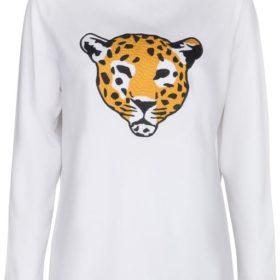 popCPH - Leopard Embroidery Sweatshirt