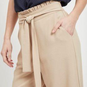 Virasha HW Cropped Wide Pant