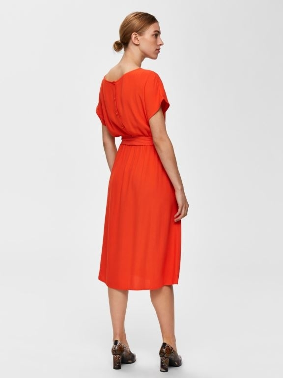 SLFRINNA vienna ss midi dress