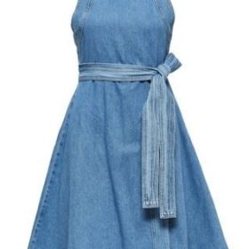 Jenner Wrap Denim Dress