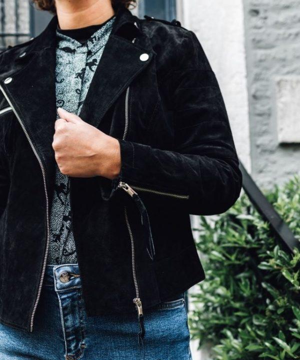 Vicris Suede Jacket