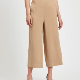 Viesther Wide Cropped Pants