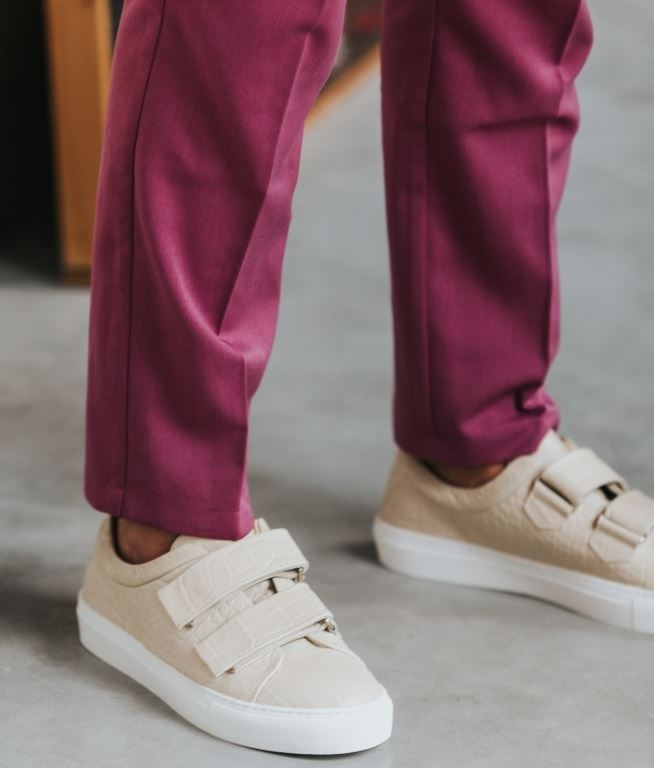 Elpique Strap Shoe Croco