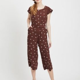 Viflores Pretty Cropped Jumpsuit