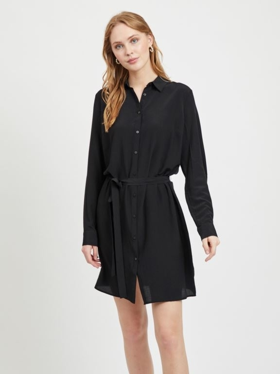 Vithoma L/S Shirt Dress