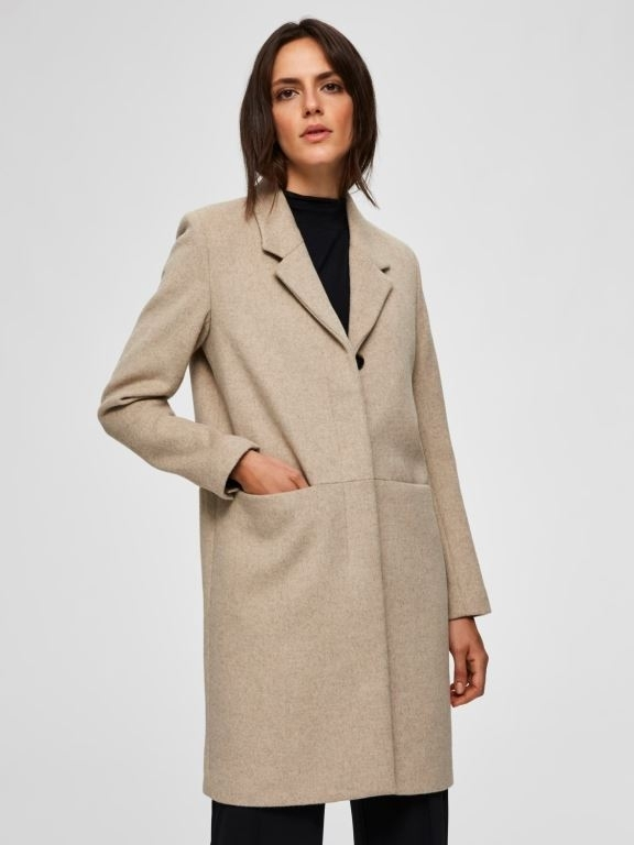 Boa Wool Coat