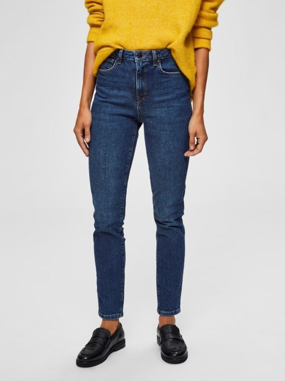 Haley HW Slim Jeans
