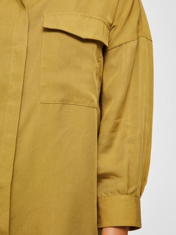 Donna 7/8 Long Shirt