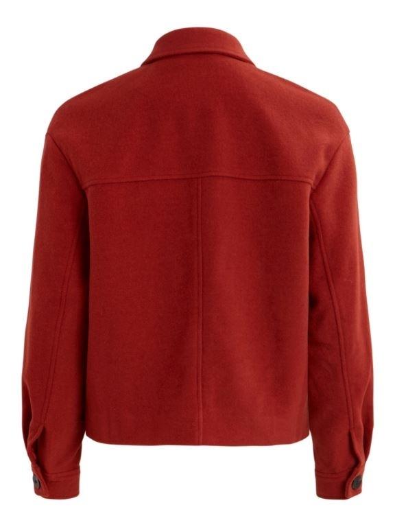Virumble wool short jacket