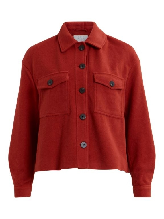 Virumble wool short jacket
