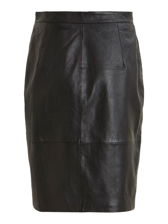 Vielfi HW Leather Skirt