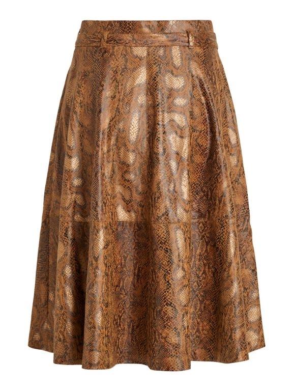 Vipines Snakey Midi Skirt