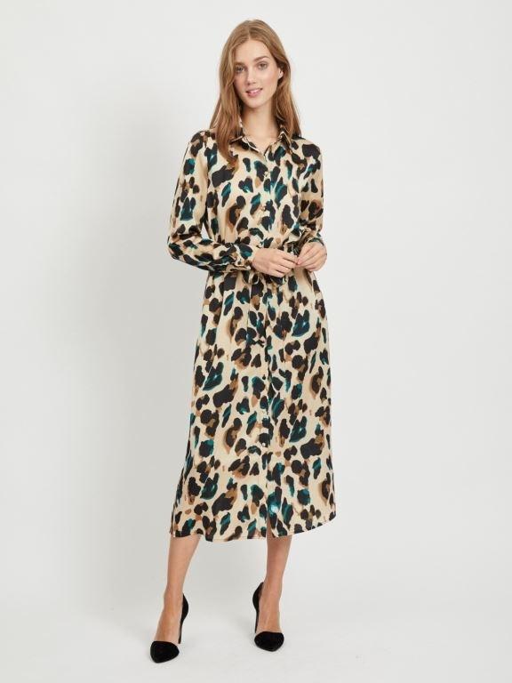 Vijolie Shirt Dress