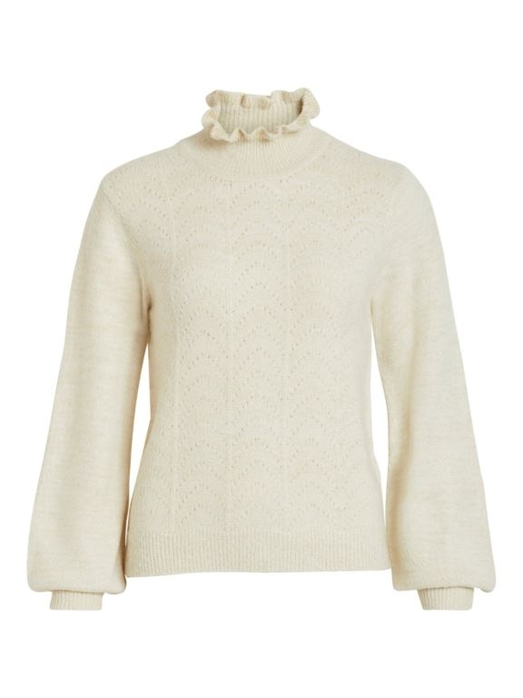 Vijiana knit high neck top
