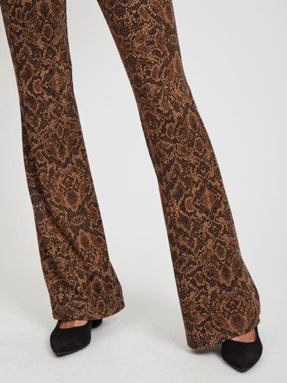 Viwinner printed flared pant