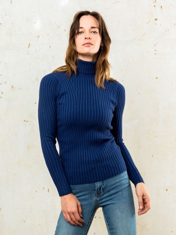 Erica Slim Roll Neck