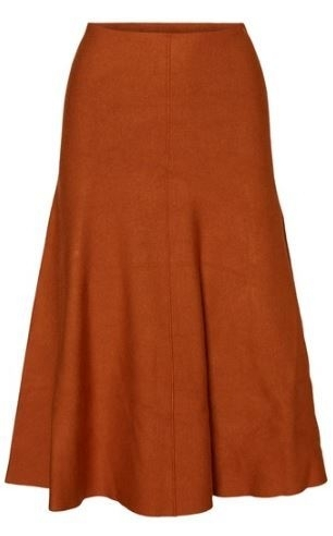 Yasroman Midi Knit Skirt
