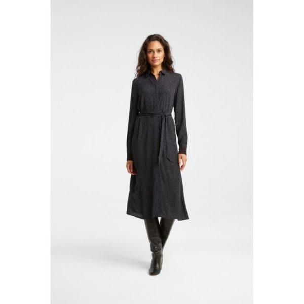 Maxi Dress With dots Print