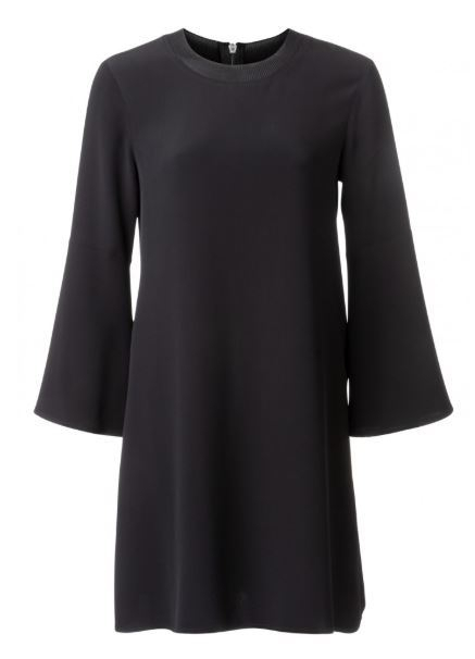 dress with wide sleeves