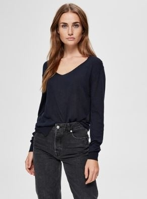 Linel Knit V- Neck NOOS