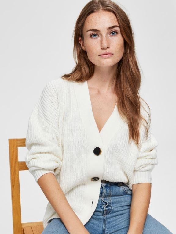 Bailey Knit Button Cardigan
