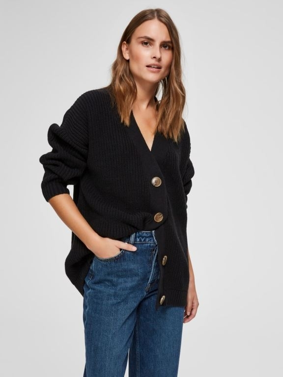 Bailey Knit Button Cardigan