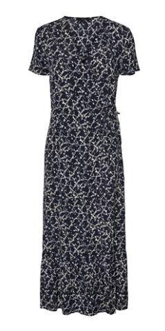 VMNILLE S/S 7/8 DRESS WVN CURVE